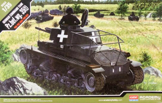 Academy 1/35 German Command Tank 35 (T) image