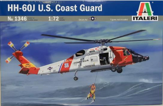 Italeri 1/72 HH-60J US Coast Guard Heli image