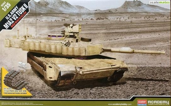 Academy 1/35 US Army Tusk M1A2 image