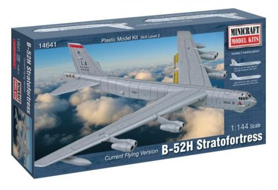 Minicraft 1/144 B-52H Stratofortress - Current Flying Edition image