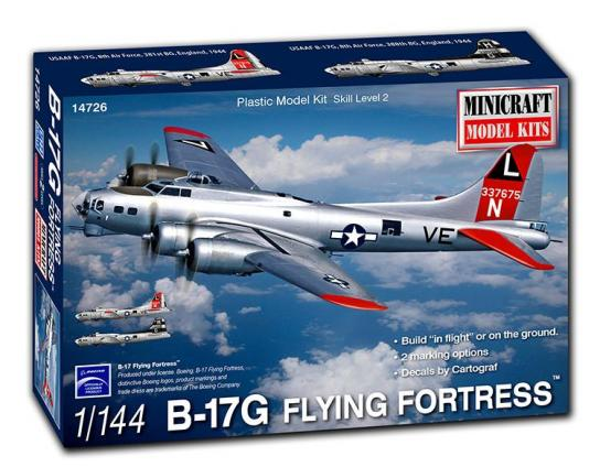 Minicraft 1/144 B-17G 'Flying Fortress' image