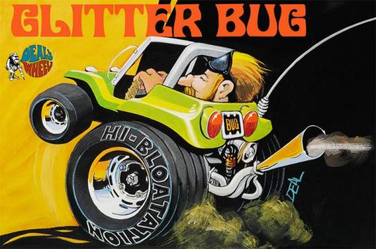 Revell - Dave Deal Glitter Bug Funny Car image