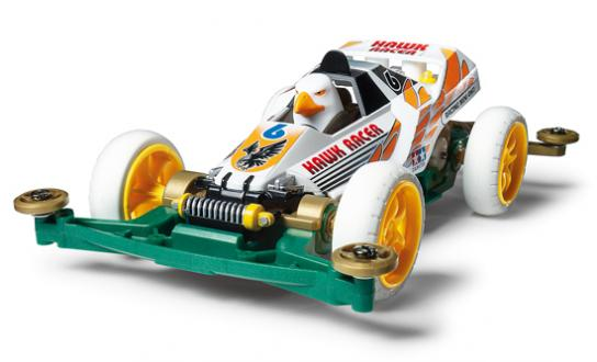 Tamiya Mini 4WD Hawk Racer - Limited Edition image