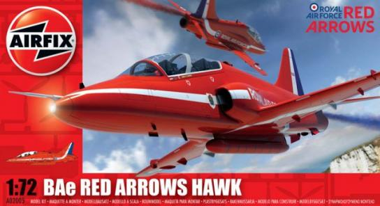 Airfix 1/72 Red Arrow Hawk image