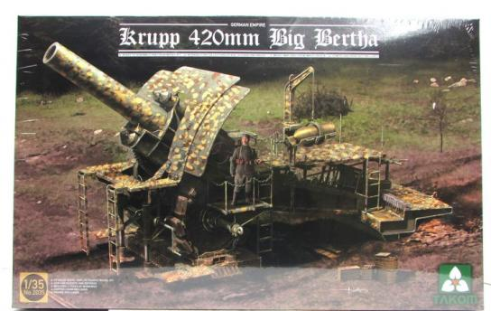 Takom 1/35 Krupp 420MM Big Bertha image