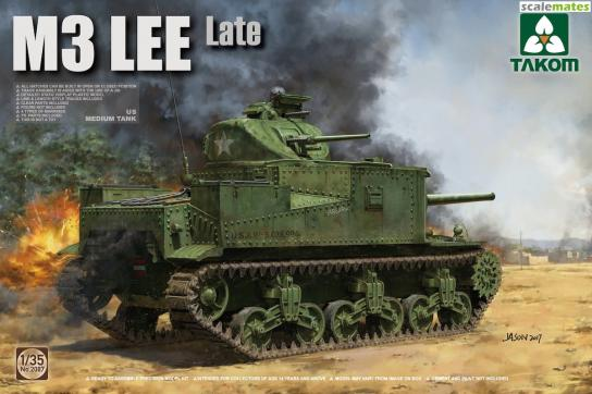Takom 1/35 British Medium Tank M3 Lee - Late image