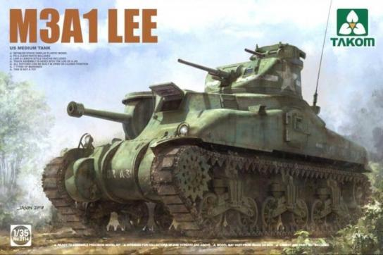 Takom 1/35 US Medium Tank M3A1 Lee image