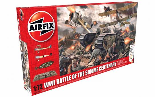 Airfix 1/72 WWI Battle of the Somme Centenary image