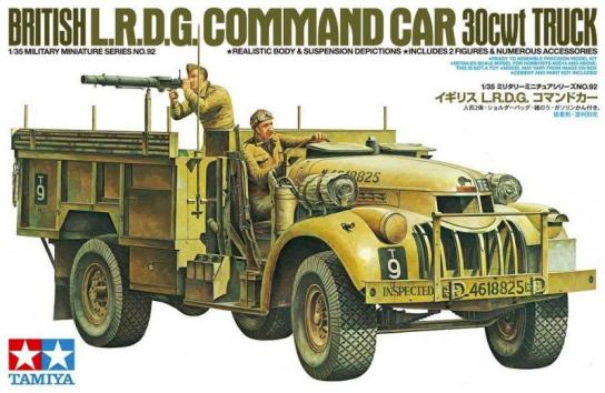 Tamiya 1/35 British LRDG Command Car 30cwt Truck image