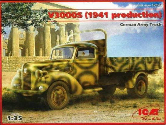 ICM 1/35 German Army Truck V3000S image