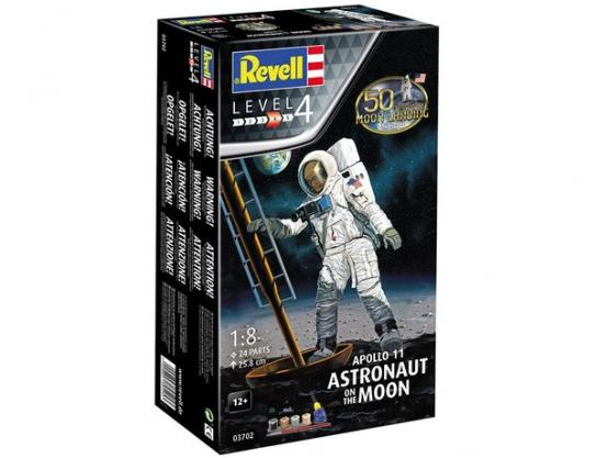 Revell 1/18 Astronaut on the Moon image