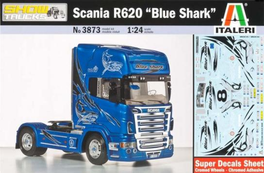 "Italeri 1/24 Scania R620 ""Blue Shark"" image"