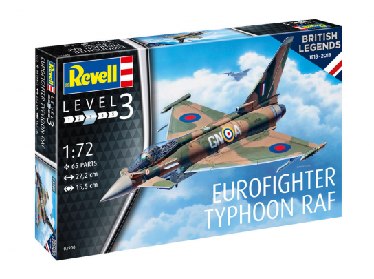 Revell 1/72 British Legends - Eurofighter image