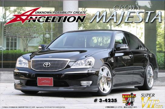 Aoshima 1/24 Anceltion Crown Majesta '04 Early Ver. - Toyota image
