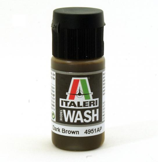Italeri Model Wash 20mL - Dark Brown image