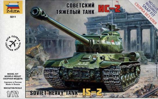 Zvezda 1/72 Soviet IS-2 Stalin Easy Assembly image