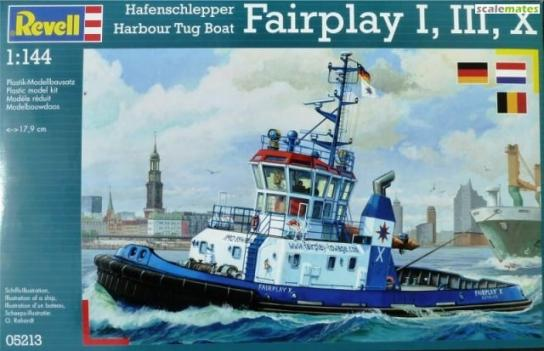 Revell 1/144 Harbour Tugboat Fairplay I, III, X image