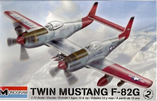 Revell 1/72 Twin Mustang F-82G image