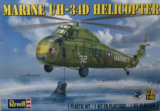 Revell 1/48 Marine UH-34 Helicopter image