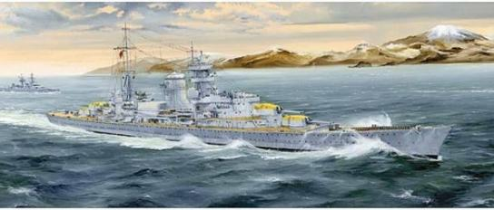 Trumpeter 1/350 German Heavy Cruiser Blucher image