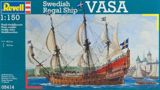 Revell 1/150 Vasa Swedish regal Ship image