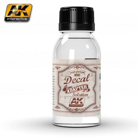 AK Interactive Decal Adapter Solution 100ml Bottle image