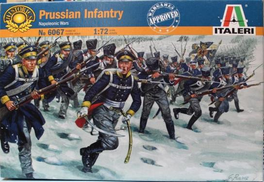 Italeri 1/72 Prussian Infantry image