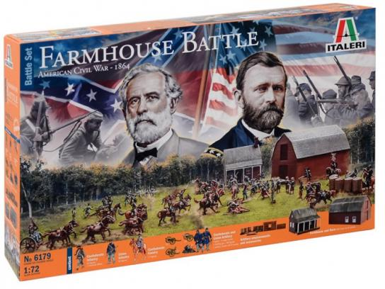 Italeri 1/72 American Civil War - Farmhouse Battle image