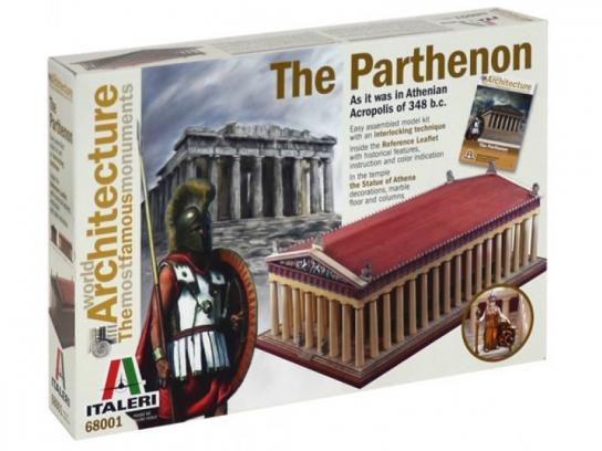 Italeri World of Architecture The Parthenon image