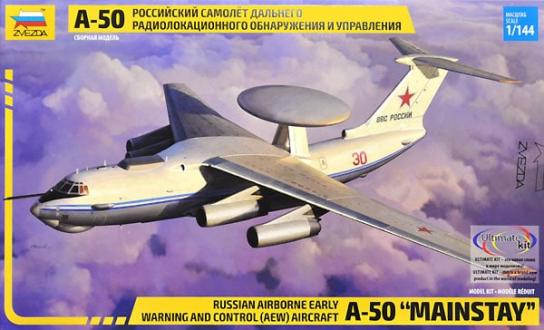 "Zvezda 1/144 Russian A-50 ""Mainstay"" image"