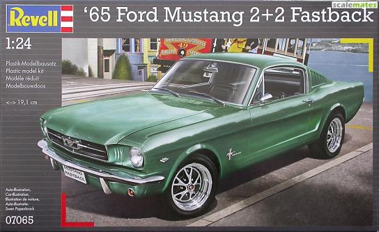 Revell 1/24 1965 Ford Mustang 2 + 2 image