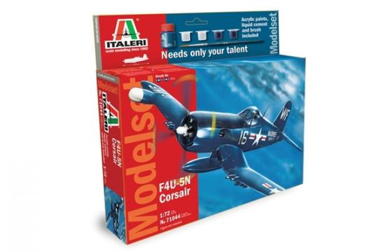 Italeri 1/72 F4U Corsair - Model Set image