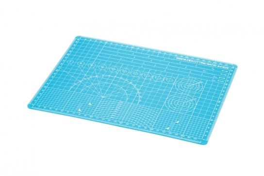 Tamiya Cutting Mat A4 Blue image