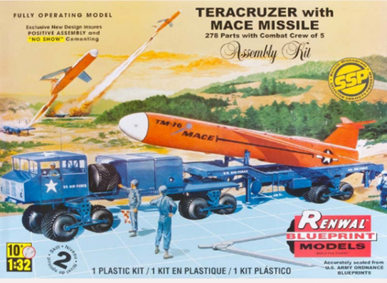 Revell 1/32 Terracruzer w/Mace Missiles SSP image