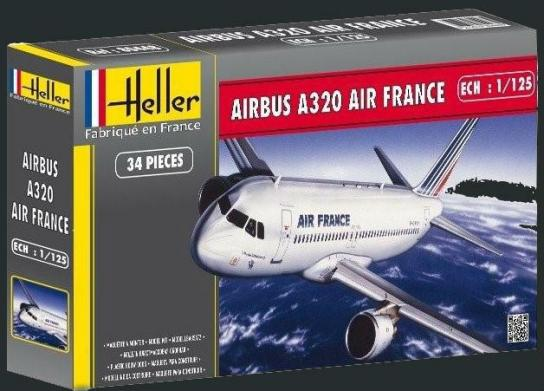 Heller 1/125 Airbus A320 Air France image