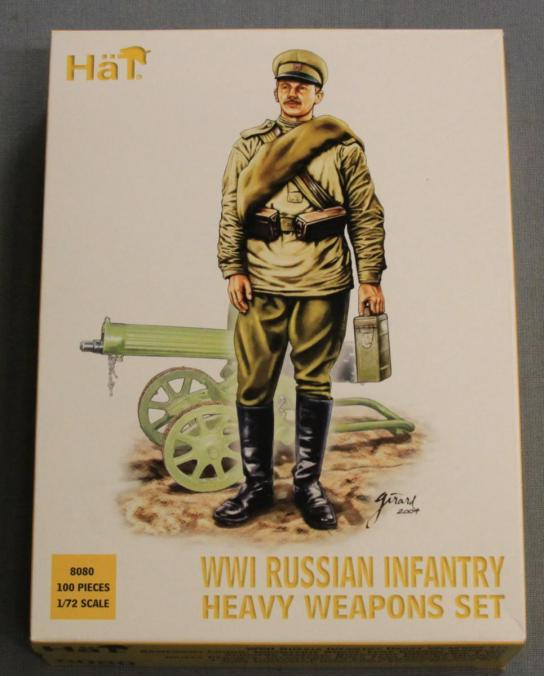 HaT 1/72 WWI Russian Infantry Heavy Weapons Set (100 Pcs) image