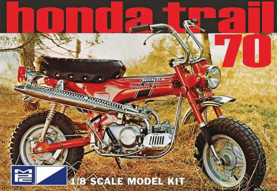 MPC 1/8 Honda Trail 70 Mini Bike image
