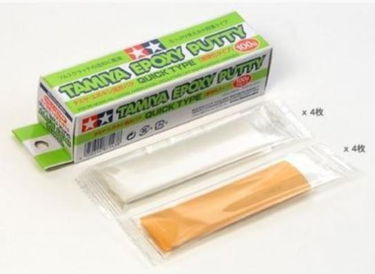 Tamiya Epoxy Putty - Quick 100g image