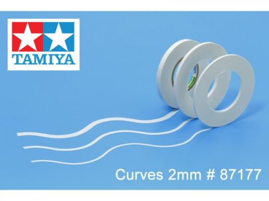 Tamiya Masking Tape for Curves 2mm image