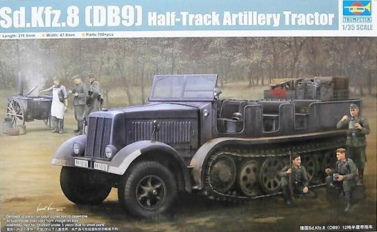 Trumpeter 1/35 Sd.Ffz.8 Halftrack Military Tractor image