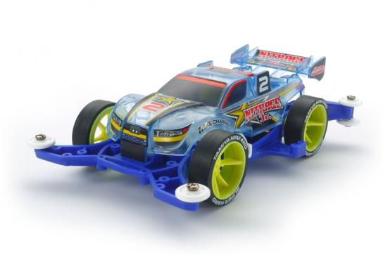 Tamiya Mini 4WD Nitrage Junior Clear Blue SP image