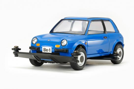 Tamiya Mini 4WD Nissan Be-1 Blue Version image