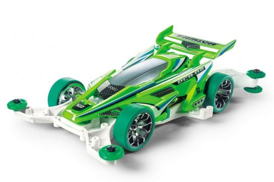 Tamiya Mini 4WD DCR-02 Fluorescent Green Special image
