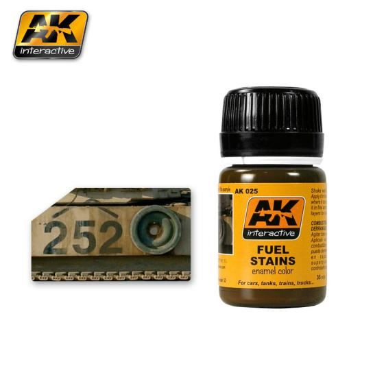 AK Interactive Fuel Stains Effects image