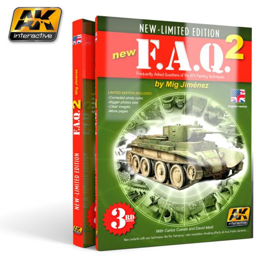 AK Interactive Books/DVDs FAQ 2 Limited Edition image