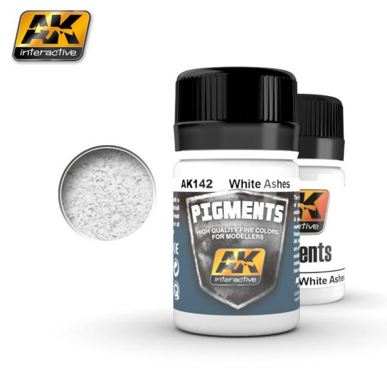 AK Interactive White Ashes Pigment image