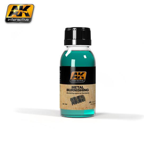 AK Interactive Metal Burnishing Fluid image