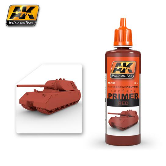 AK Interactive Red Primer 60ml image