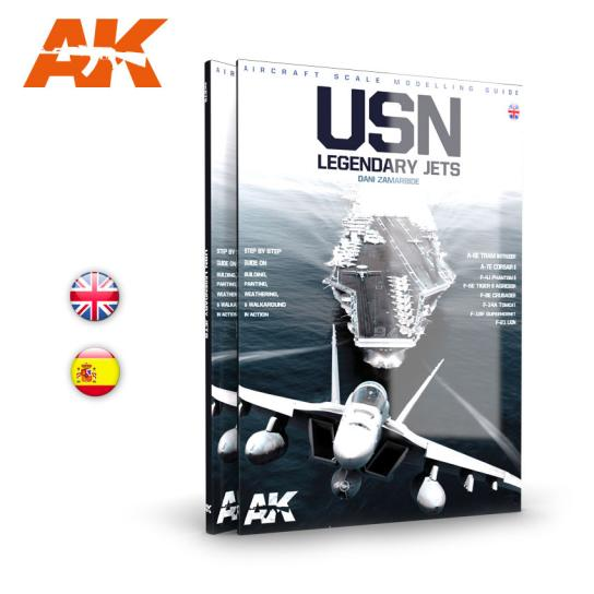 AK Interactive Books/DVDs USN Legend Reactions image