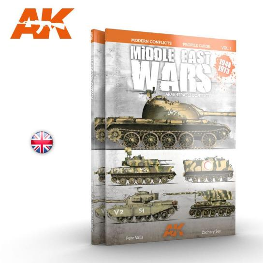 AK Interactive Books/DVDs Middle East War 1948-1973 Vol.1 image